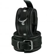 SToys Leather Ankle Cuffs - Small
