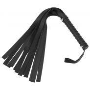 Sex & Mischief Black Leather Look Flogger