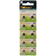 Hi-Watt Alkaline Batteries AG3 - LR41 10 pcs