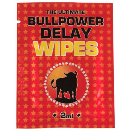 Bull Power Delay Wipes 6 Pack