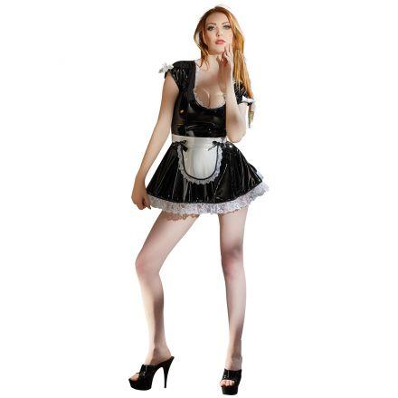 Black Level Lacquer Maid Dress
