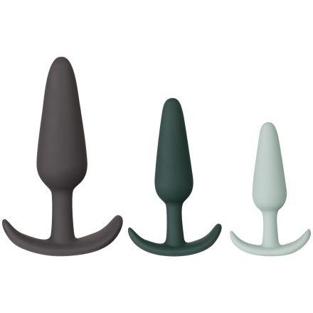 Amaysin Triple Butt Plug Set