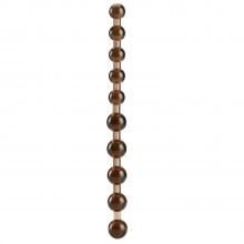 Anal Dildo with Beads Black  1
