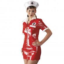 Black Level Sygeplejerske Kostume i Lak  1