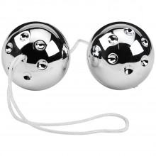 Silver Balls Pleasure Beads