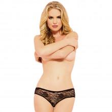 Seven til Midnight Bundløs Blonde Trusse Sort Product model 1