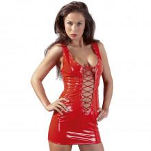 Black Level Lacquer Mini Dress Red