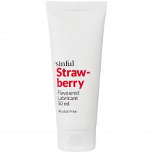 Sinful Glidecreme med Jordbær Smag 50 ml Product 1