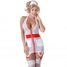 Cottelli Sygeplejerske Uniform med Strømpeholder  1