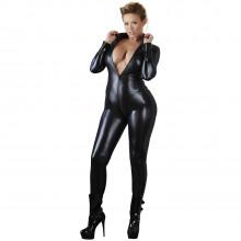 Cottelli Wetlook Catsuit Plus Size Front