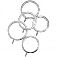 ElectraStim Solid Metal Penisringe 5 stk  1