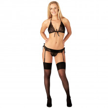 Nortie Freja Lace Bra Set with Suspenders  1