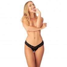 Nortie Malin Bundløs Orgasme Perle G-Streng Product model 1