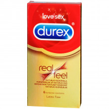 Durex RealFeel Latexfri Kondomer 6 stk  1