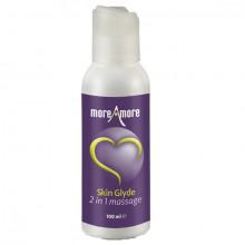 Moreamore Skin Glyde 2-i-1 Massage og Glidecreme 100 ml  1