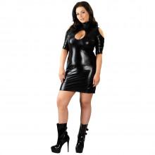 Cottelli Wetlook Kjole Plus Size  1