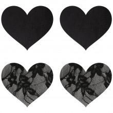 Peekaboos Nipple Stickers Hjerte Blonde 2 pak  1