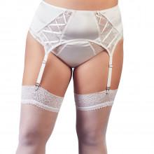 Cottelli Blonde Hofteholder Hvid Plus Size Product model 1