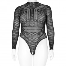 Nortie Gry Crotchless Bodystocking Plus Size Product picture 1