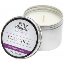 NEW - Fifty Shades Of Grey Play Nice Vanilje Duftlys  1
