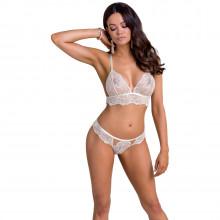 Casmir Inoe White Lace Bra Set   Product model 1