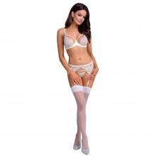 Casmir Inoe White Suspender Set Product model 1