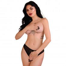 Daring Intimates Angel Naughty Crotchless Panty 1