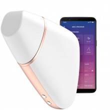 Satisfyer Love Triangle App-controlled White Clitoral Stimulator