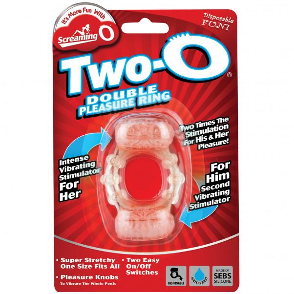 Screaming O Two-O Dual Vibrator Ring