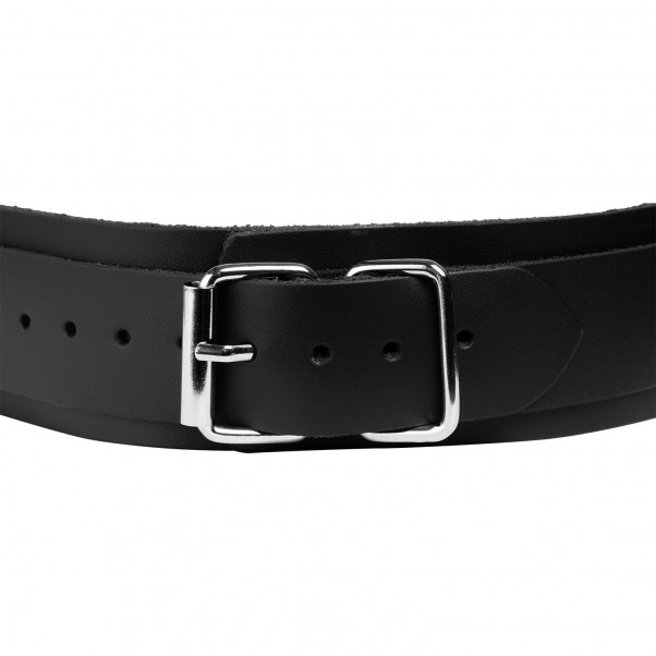 Spartacus Collar with Nipple Clamps Black