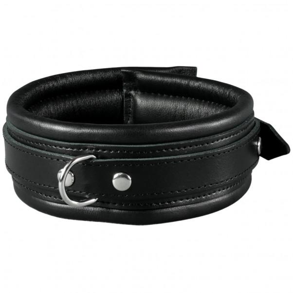 SToys Black Leather Collar  1