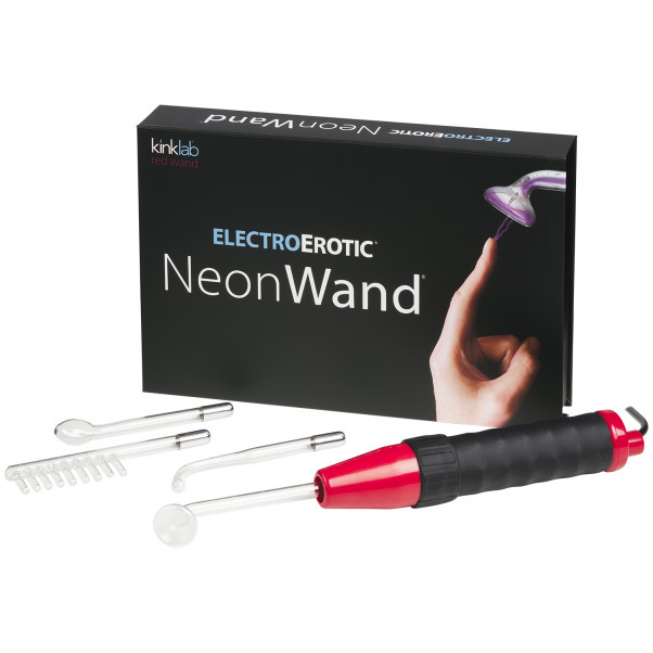 Kinklab Neon Wand Elektro Sex Violet Wand Kit 1