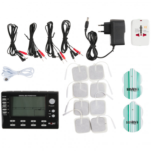 Rimba Digital 4-Channel Electrosex Box  4