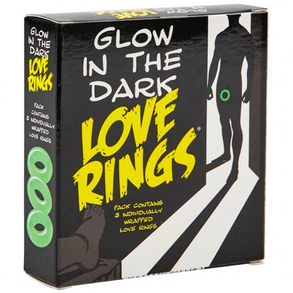 Glow In The Dark Luminous Cock Rings