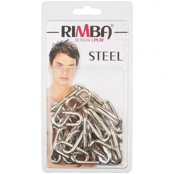 Rimba Metal Kæde med Karabinhager 100 cm Pack 90