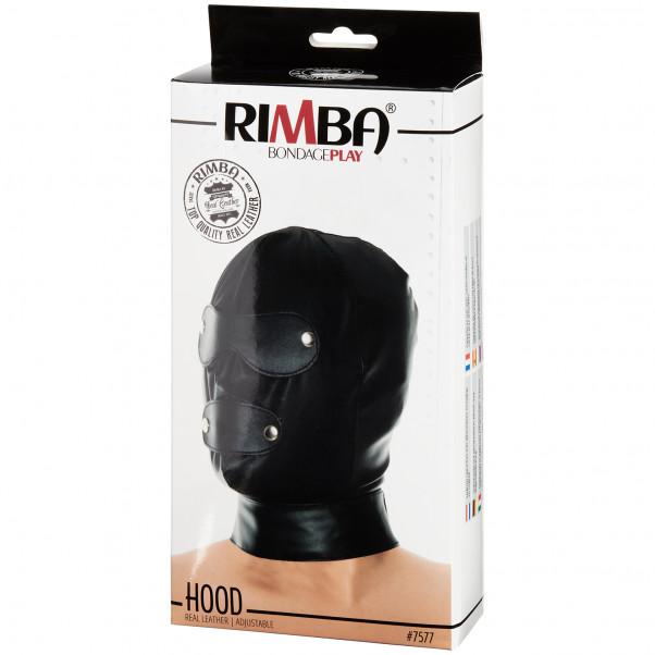 Rimba Justerbar Læder Maske Pack 90