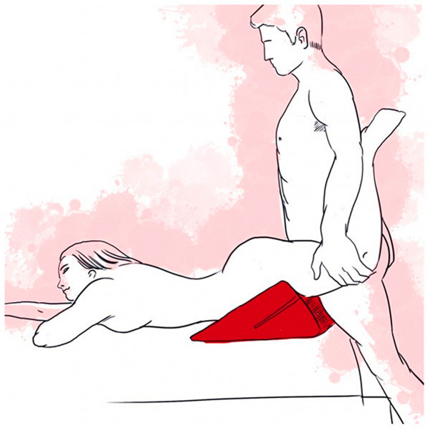 Liberator Wedge Sex Pillow Red  3