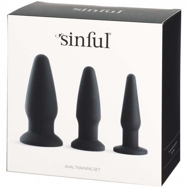 Sinful Anal Training Set Silicone  90