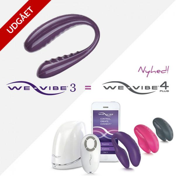 We-Vibe 3 Trådløs og Fjernbetjent Par Vibrator - PRISVINDER  0
